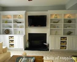 storage solutions living room:  creative storage solutions for the family room shelves nice and tvs