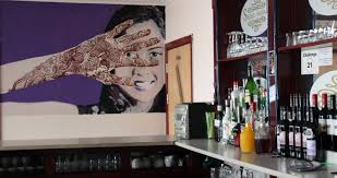 Buy online wall decor paintings designs choose from unique designs of wall plates, wall mirrors, wall arts, sculptures and other. Curry Life Blog A Feast For The Eyes Inspiring Wall Art In Indian Restaurants