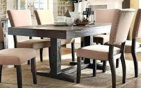 72 inch round dining table rustic trestle in brown reclaimed wood finish set with leaf i