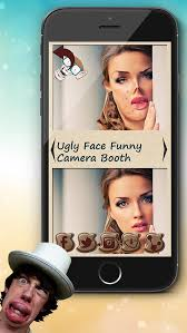 ugly face funny photo mone booth game uglify yourself and edit pic s