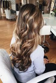 Brunette Balayage Hair Highlights Picture Description
