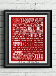 ohio state wall decorations state wall decorations homely design state wall art stadium football