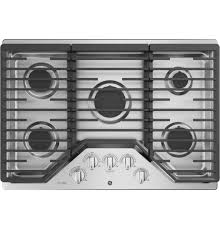 ge profile 5 burner gas cooktop stainless steel common 30