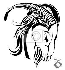 Obraz Tetování Znamení Astrologie Horoskop Kozoroh