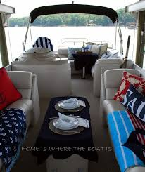 Boat Decor Accessories Mesmerizing Yachtdecor Pontoon Boat Decor Boat Pinterest Pontoon