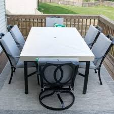 how to spray paint outdoor furniture