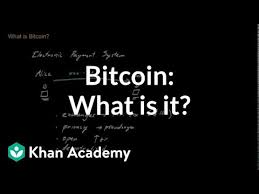 Bitcoin.org is a community funded project, donations are appreciated and used to improve the website. Bitcoin What Is It Video Bitcoin Khan Academy