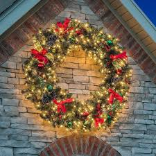 profitable large outdoor lighted wreath pin by beverly cook on diy crafts creations