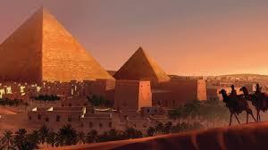 Великая пирамида Хеопса в Гизе первое чудо света Пирамида Хеопса в Гизе