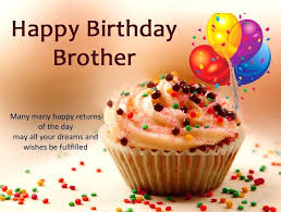Birthday Quotes For Brother With Cake Happy Birthday Quotes For