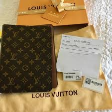 new authentic louis vuitton desk agenda cover