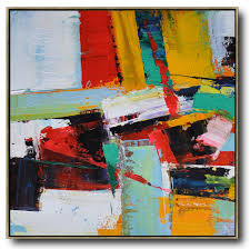 extra large painting oversized palette knife painting contemporary art on canvas hand painted aclylic
