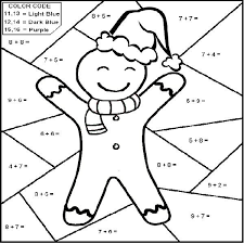 Christmas Math Coloring Pages At Getdrawingscom Free For Personal