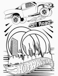 Small Picture Hot Wheels Coloring Pages Set 5 A huge collection of Hot Wheels