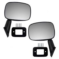 Driver and Passenger Manual Side View Mirror Replacement for Toyota ...