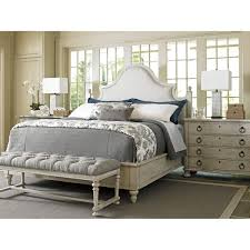 Lexington Bedroom Furniture Lexington Oyster Bay Upholstered Panel Bed Reviews Wayfair