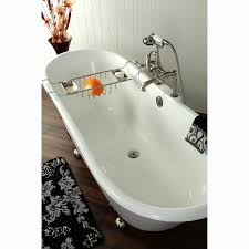 67-inch Cast Iron Double Slipper Clawfoot Bathtub - Free Shipping Today -  Overstock.com - 15130592