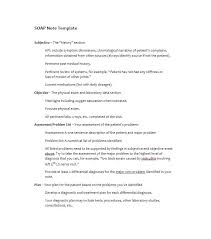 Assessment Example 40 Fantastic SOAP Note Examples & Templates - Template Lab