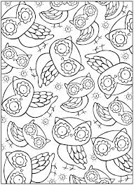 Snowy Owl Coloring Page Cute Coloring Pages Of Owls Cute Owl