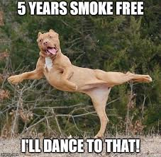 Image result for celebrating 5 years smoke free pics