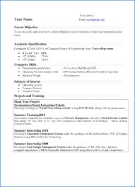 Best Resume For Software Engineer Fresher Gulijobs Com