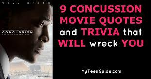 Concussion Quotes Mesmerizing Concussion Quotes Simple 48 Concussion Movie Quotes And Trivia That
