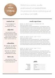 stylish resume template and cover letter cv design in by landedco cover letter and cv template