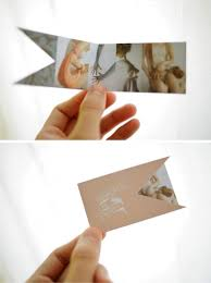Business Card fold out