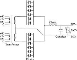 welding power supply electrical diagram of the power supply for a six dc arc welding system notice