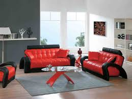 classy design black red. Classy Red Living Room Ideas Exquisite Design. Decoration Leather Set Smart Design Black N