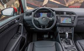 2018 volkswagen cc interior. Delighful Interior Thereu0027s A Bit More Of That Audi DNA Inside The 2018 VW Tiguanu0027s Interior  You Can See Borrowed Styling Cues In Air Vents How Gauge  And Volkswagen Cc Interior