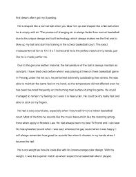 descriptive narrative essay 3 first