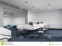 download office desk cubicles design. Beautiful Office Download Concerete Glass And White Loft Office Interior Stock Illustration   Of Desk In Desk Cubicles Design D