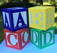 large alphabet blocks image 0 block letters for baby shower wooden letter diy decoration large alphabet blocks baby decoration diy extra wooden
