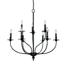 giverny 9 light candle style chandelier