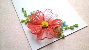 Card Designs Quilling Flowers Tutorial And Quilling Designs For Cards