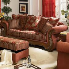 traditional living room furniture. Red Chenille Fabric Traditional Living Room Sofa W/Options Furniture