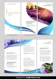 Fun Brochure Templates This Is A Fun Brochure The Ribbon Flows Through The