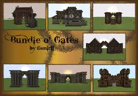 minecraft gate. Brilliant Gate Bundle Ou0027 Gates  MedievalFantasy To Minecraft Gate