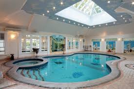 Houses with indoor swimming pools with the home decor minimalist pool  furniture with an attractive appearance 2