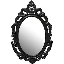 stratton home wood baroque wall mirror
