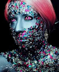 the crazy cool neon makeup transformation you have to see