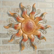 fiesta sun metal wall art multi warm touch to zoom