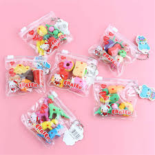 1pc/<b>lot</b> Small Handbag Shaped Rubber Pencil Eraser <b>Cute</b> Cleaner ...