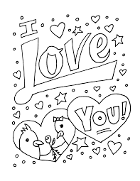 Small Picture I Love You Colouring Pages FunyColoring