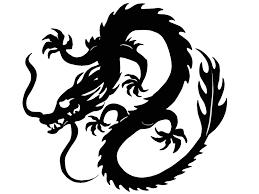 Artstation Kung Fu Dragon Embroidery Design Vikhop Design
