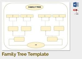 Free Editable Family Tree Template Free Editable Family Tree Template Free Family Tree