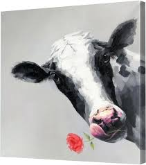 cow painting on canvas the cow canvas wall art painting canvas for philippines cow painting on canvas