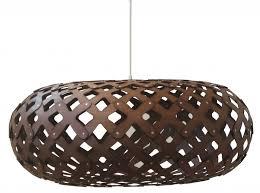 david trubridge lighting. kina light in chocolate by david trubridge lighting s