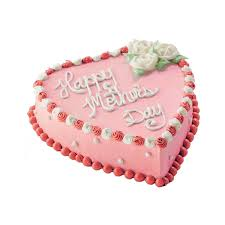 Mothers Day Heart Cake Carvel Cake Shop